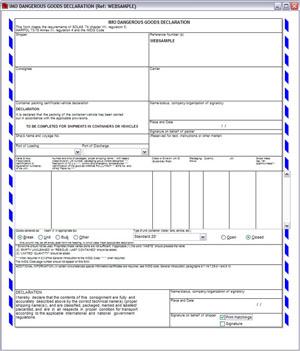 Customs Pro Forma Invoice | Air Waybill | Dock Receipt