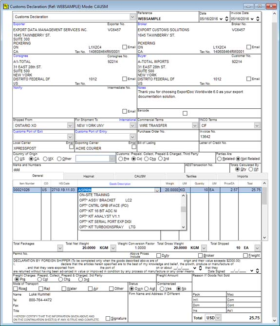 Document Features  Proforma Invoice Template Pdf